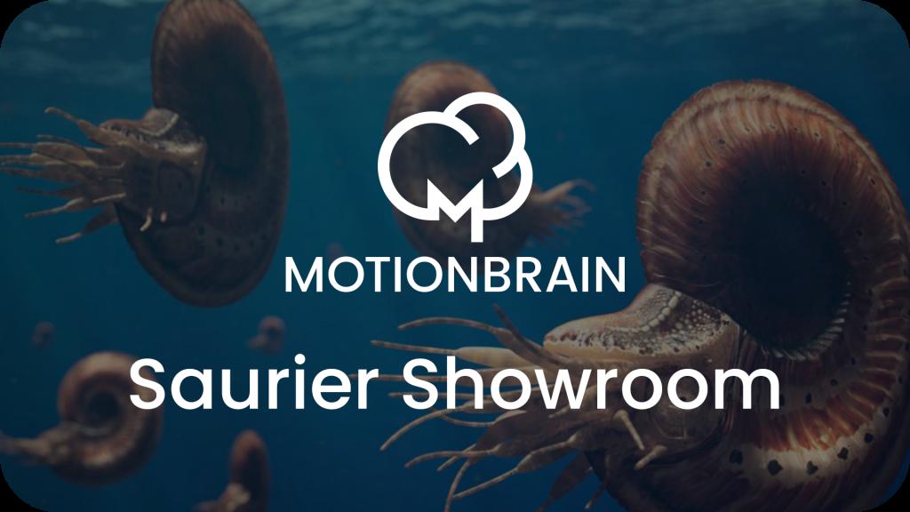 WebGl - motionbrain - Saurier Showroom